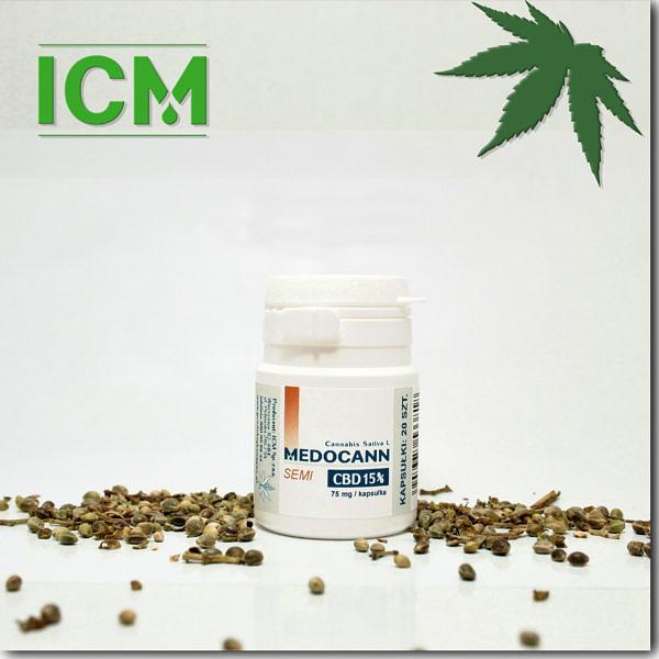 Medocann 15% CBD kaps 20 (m)