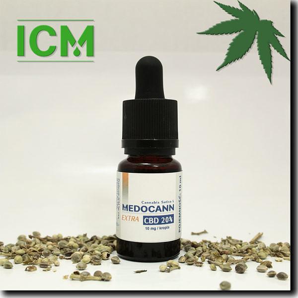 Medocann EXTRA 20% CBD 10ml (k)